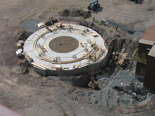 Silo Foundation Construction